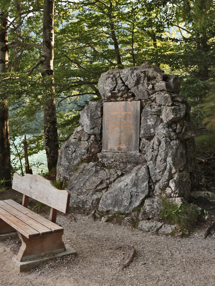 marien-monument alpsee