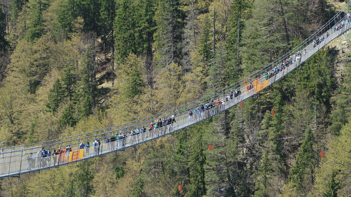 die highline179 hat sich durchaus als Besuchermagnet etabliert und das erfreut die Betreiber wie auch die Touristiker der Region gleichermaßen
