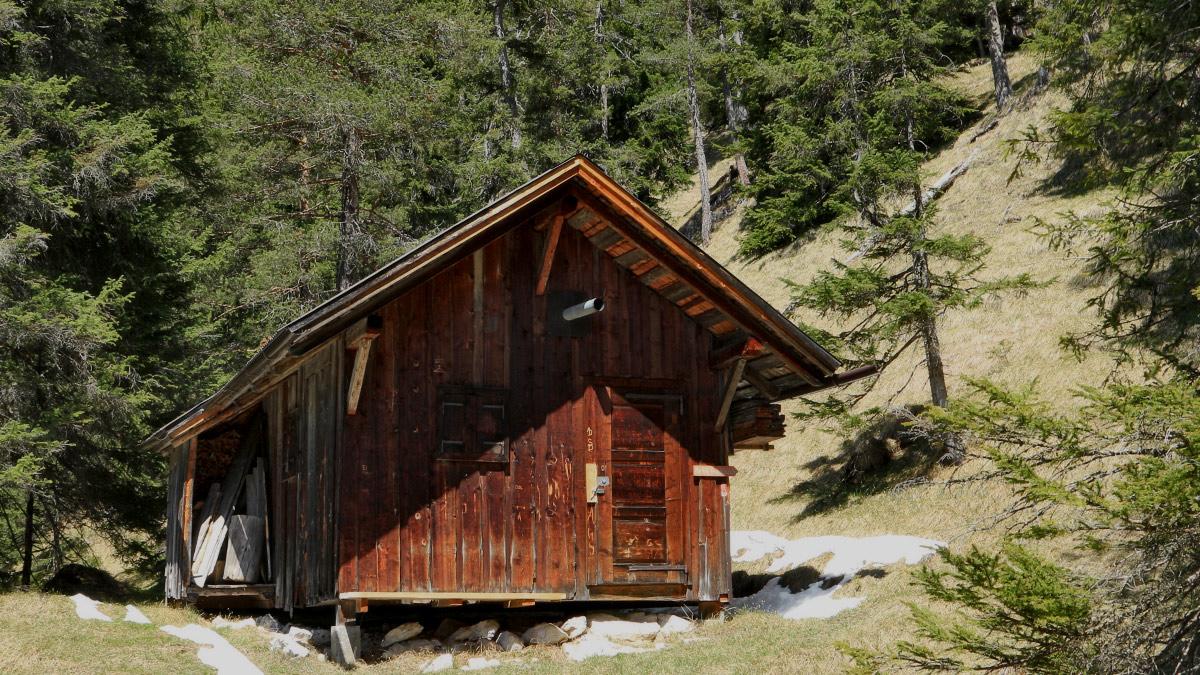 die Gaichtberghütte