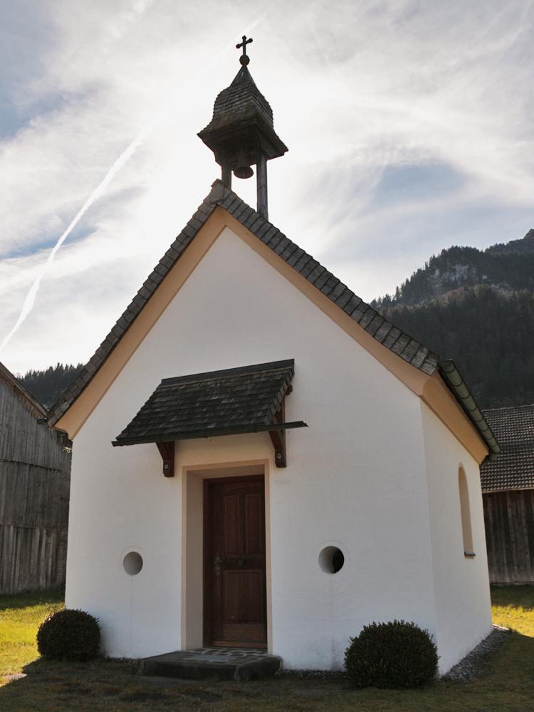 die Antoniuskapelle in Musau-Brandstatt