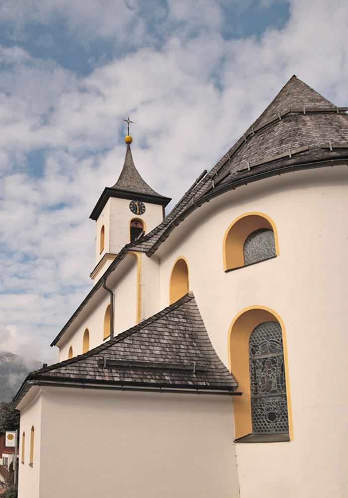 die Pfarrkirche St. Joseph in Zöblen aus dem Jahr 1795