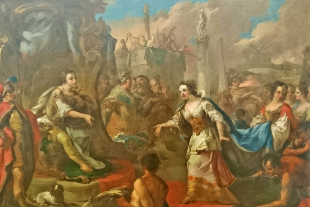 balthasar riepp  salomon und die königin von saba
