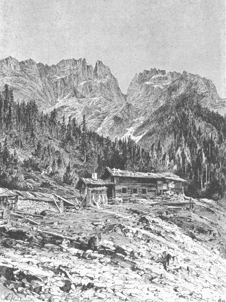 bergwerk  schachtkopf  wampeter  schrofen  marienberg  marienbergspitze