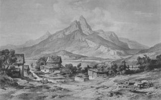 Die Gernspitze bei Reutte