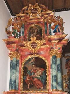 Schöllanger Burgkirche Seitenaltar