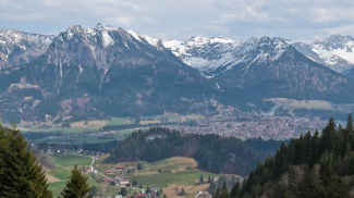 Oberstdorf und Tiefenbach