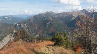 Gipfelblick Sienspitze