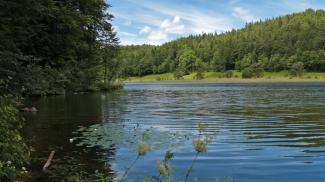 Obersee im Faulenbachtal