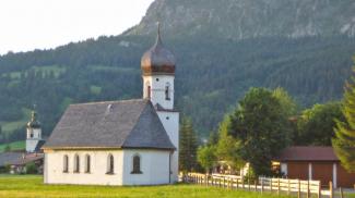 Maria-Hilf-Kapelle in Tannheim