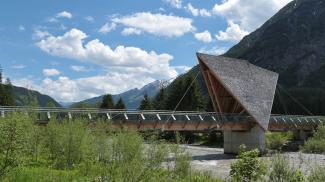 Radbrücke bei Walchen