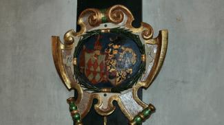 Stifterwappen in der Pfarrkirche Elmen