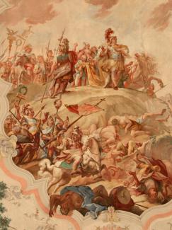Kaiser Konstantin siegt im Zeichen des Kreuzes