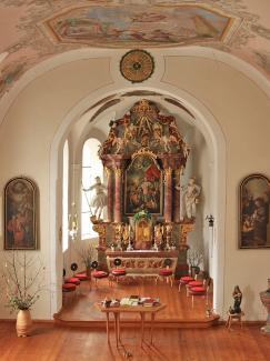 Pfarrkirche hl. Oswald in Steeg