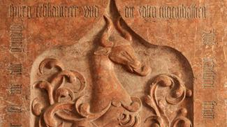 grabplatte hohenegg vilsegg kirche vils