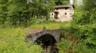 Loisachmühle bei Ehrwald