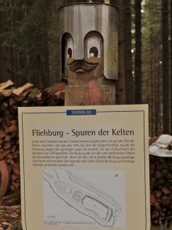 fliehburg keltisch ottacker heinrichweg sulzberg
