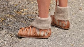 römisches Schuhwerk - caligae