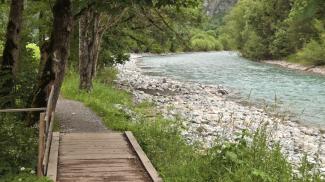 am Lechweg bei Steeg