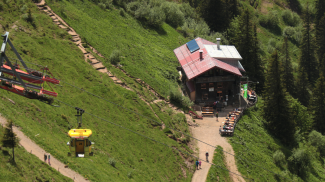 Hochgratbahn und Staufnerhaus