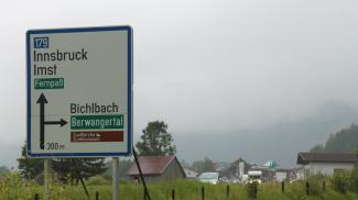 B179 bei Bichlbach