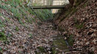 Klamm am Buchenberg - römische Geleisstraße