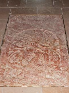 Grabplatte des Oswald von Schrofenstein