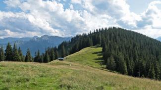 Bleickhütte und Hohe Bleick
