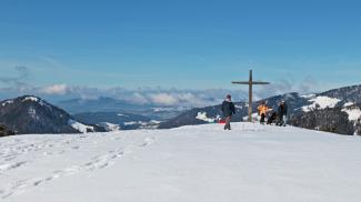 Gipfelblick Renkknie