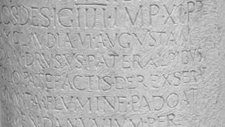 römischer Meilenstein bei Rabland