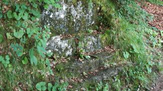Steinsessel am Alpsee