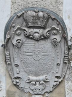 Wappenstein an der Ehrenberger Klause