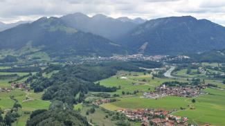Höhenzug bei Untermaiselstein