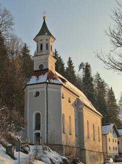 Filialkirche Unserer Lieben Frau am Berg in Füssen