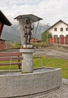 Zöblen Dorfbrunnen