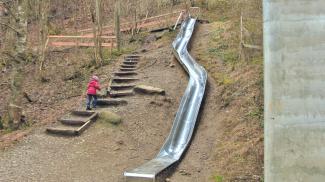Duracher Wasserweg - Riesenrutsche