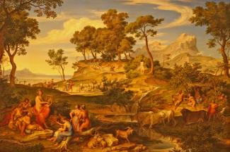 Joseph Anton Koch - Apollo unter den Hirten