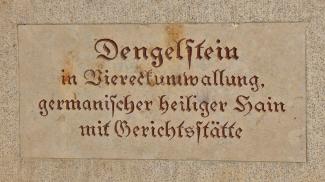 Dengelstein - Denkmal