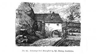 Schanze bei Burgberg