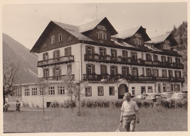 Das alte Hotel Forelle am Plansee