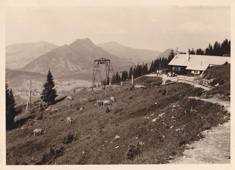 Bergstation der Iselerbahn am Oberjoch