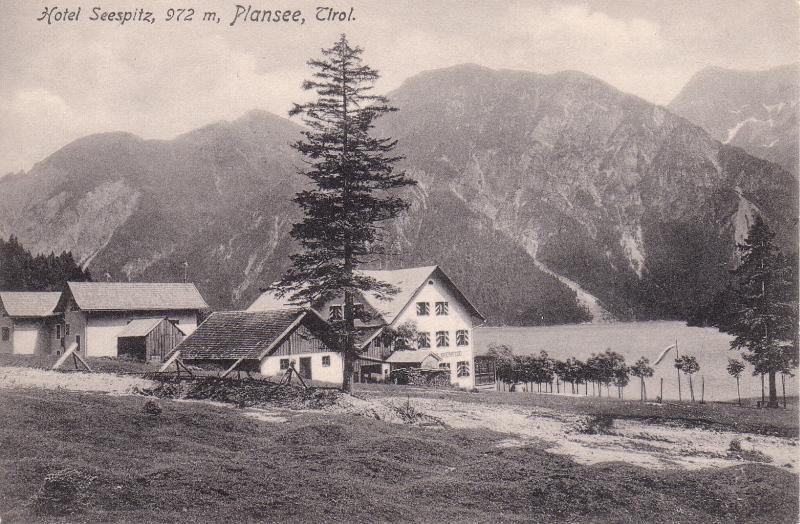 Aufnahme des Hotel Seespitze 1907