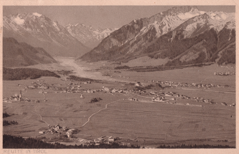 reutte dürrenberg alp alm 1920 geringe besiedelungsdichte