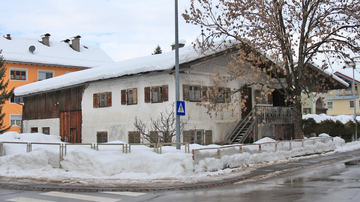altes Haus in der Ehrenbergstraße