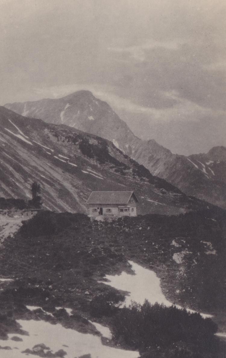 die Landsberger Hütte (1929)
