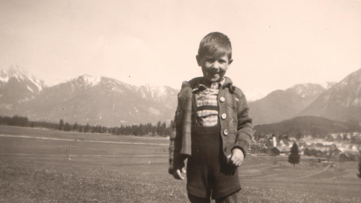 in den Schollenwiesen bei Höfen - etwa 1960