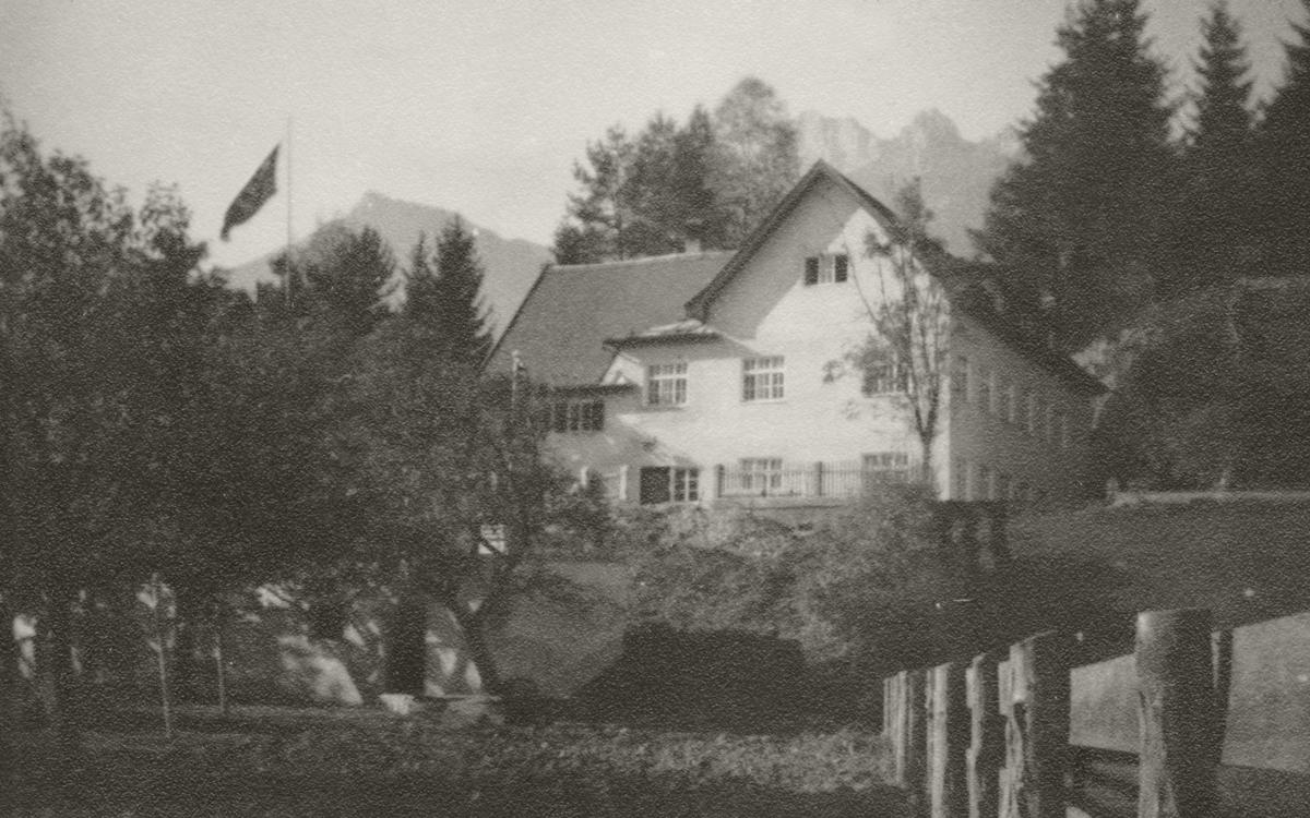 das BDM-Lager (Bund deutscher Mädel) in Höfen (Platte)