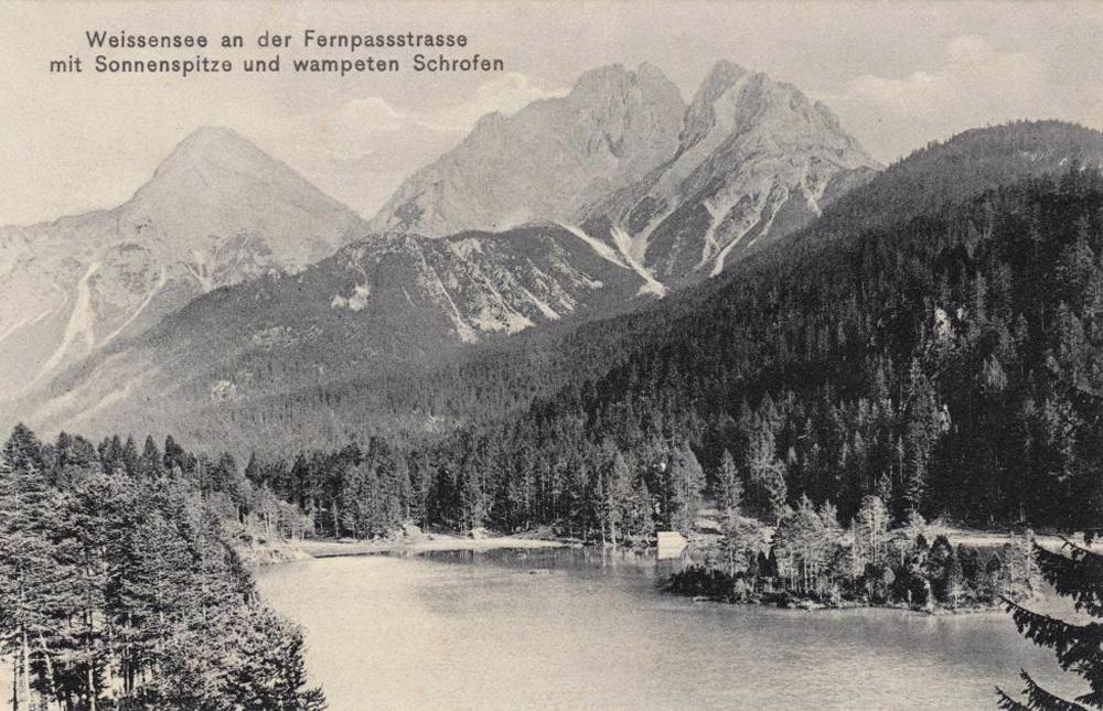 weißensee biberwier fernpassstraße