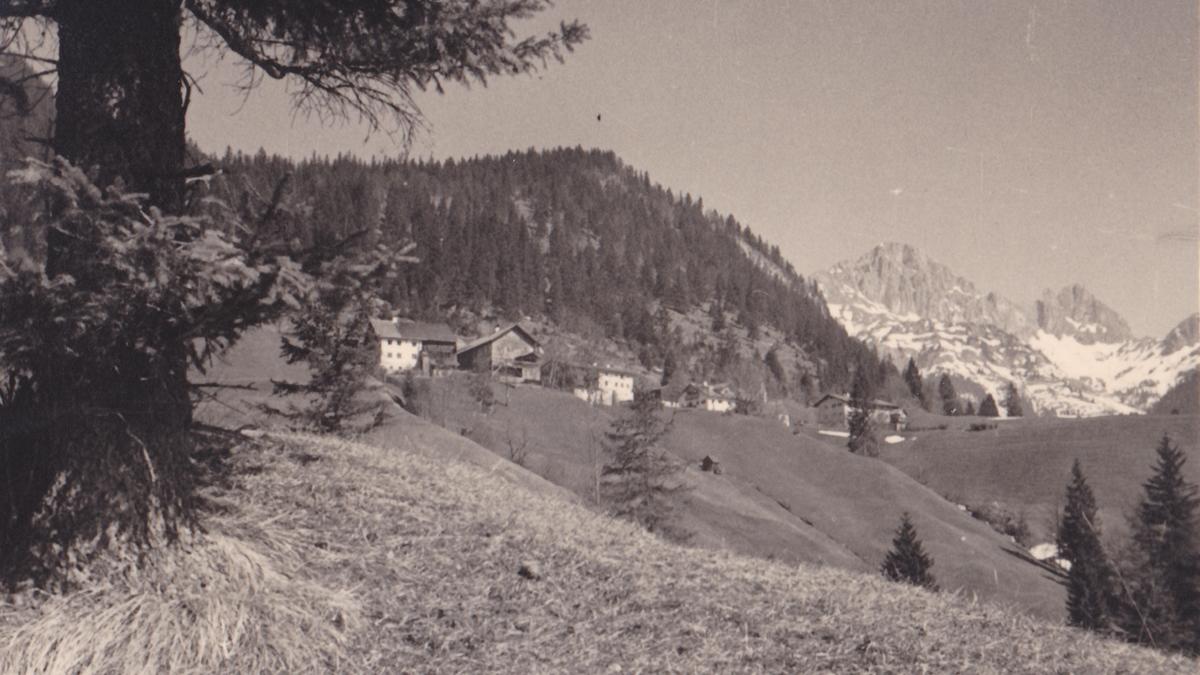 der Nesselwängler Weiler Rauth 1936