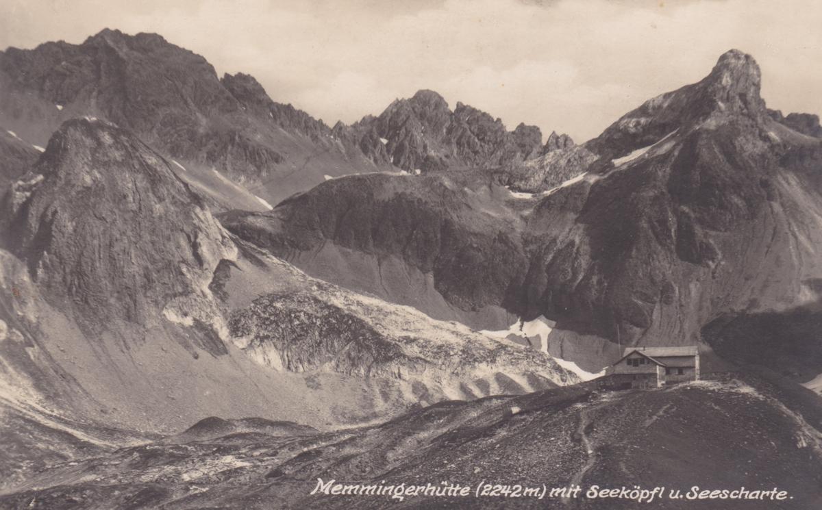 memmingerhütte memminger-hütte seeköpfl seescharte madautal