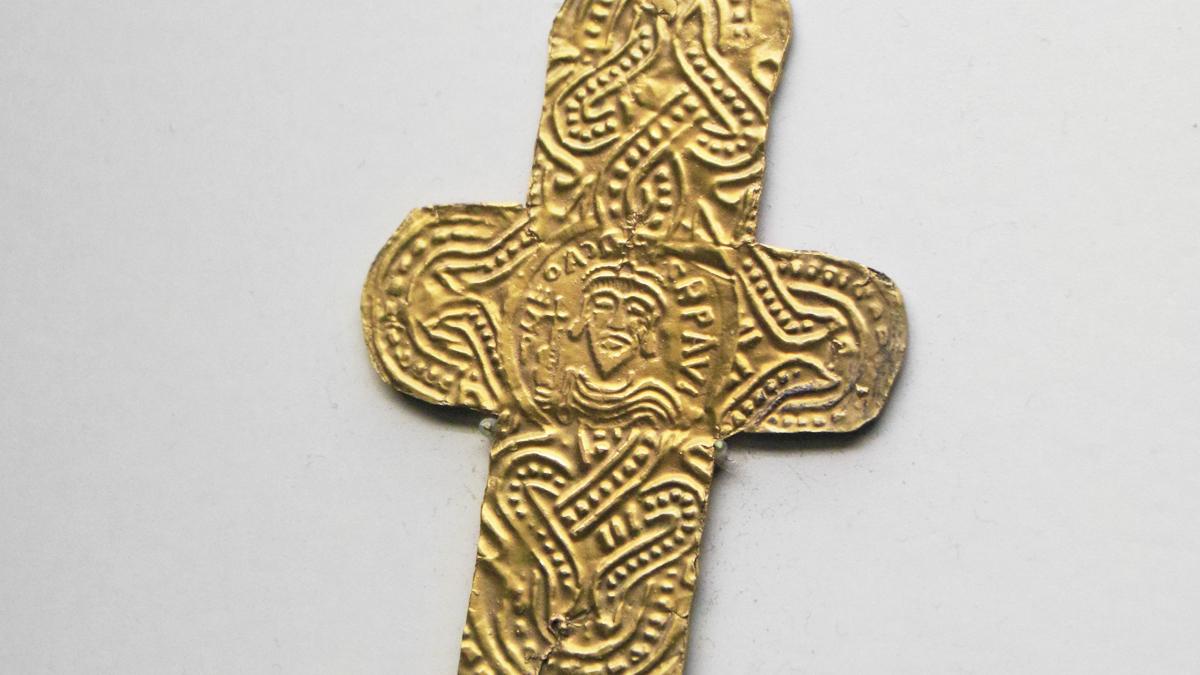 alemannisches Goldblattkreuz